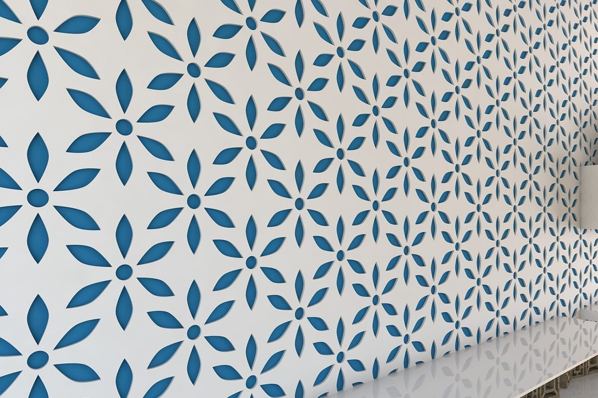 Flower 3d Wall Panels : D panels flower moonwallstickers