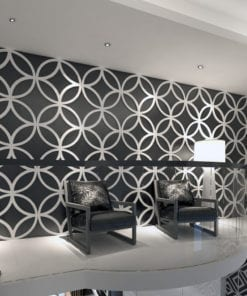 3D Wall Panels Geometric Stars