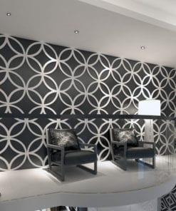 Panneaux 3D Étoiles Géométriques