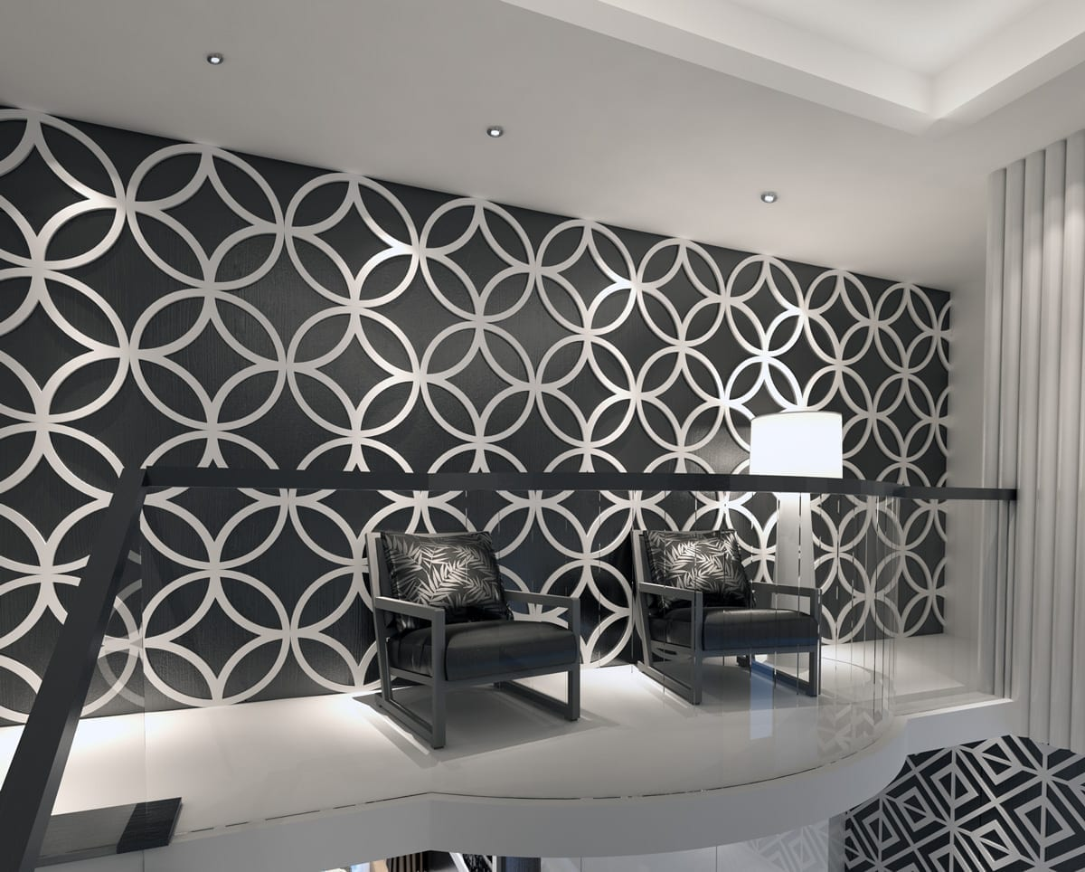 3d wall panels geometric stars for 3d wall covering