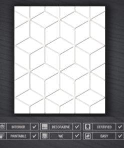 Bas Relief Cubes 3D Panels - Specs