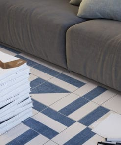 Brasilia Tile Stickers - Floor