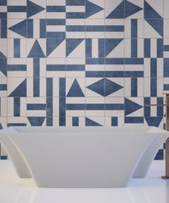 Brasilia Tile Stickers - Wall