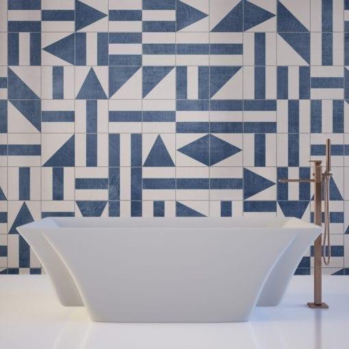 Brasilia-Tile-Stickers - Wall