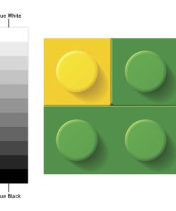 Bricks Tile Stickers - Color Spectrum