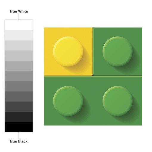 Bricks Tile Stickers - Color Spectrum