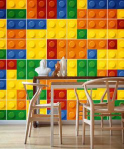Bricks Tile Stickers - Wall