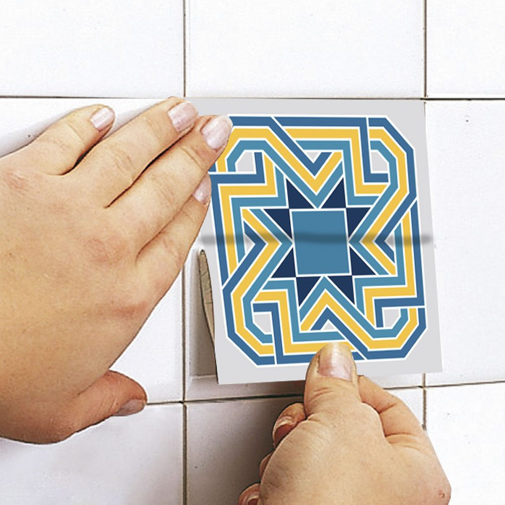 Colorful Tile Decals (Pack of 25) - Moonwallstickers.com