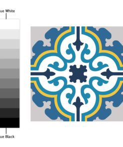 Colorful Tile Decals - Color Spectrum