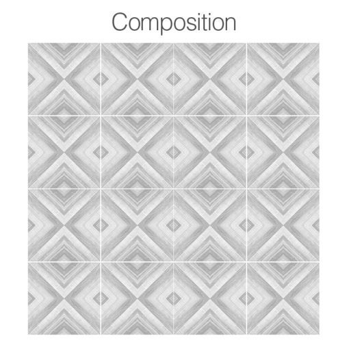 Crayon Tile Art - Composition