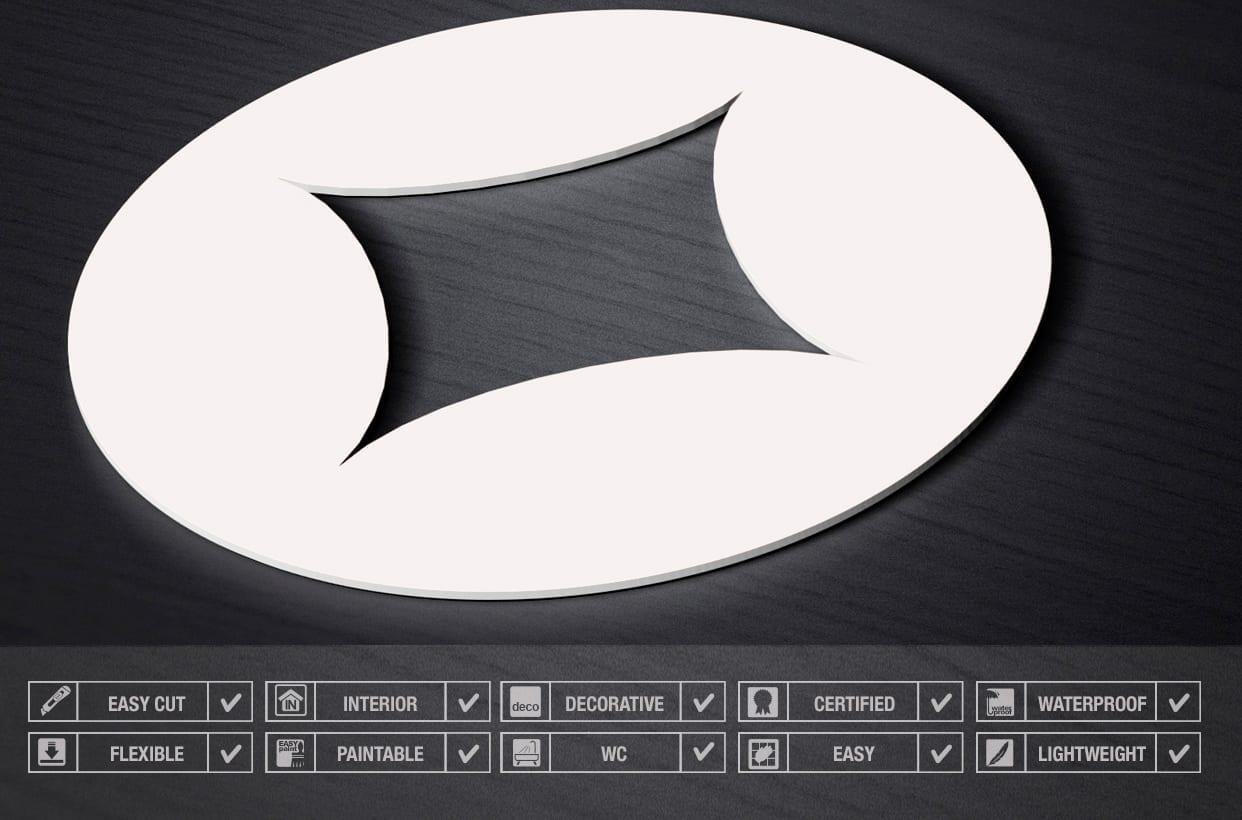 Diamonds 3D Wall Panels - Specs