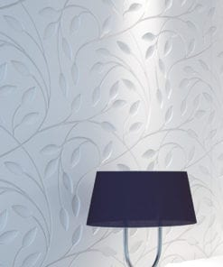 Floral Bas Relief 3D Wall Panels