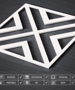Art Géométrique Panneaux 3D