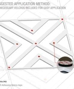 Geometrische Kunst 3D Paneele