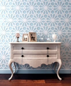 Geometric Oriental 3D Wall Panels