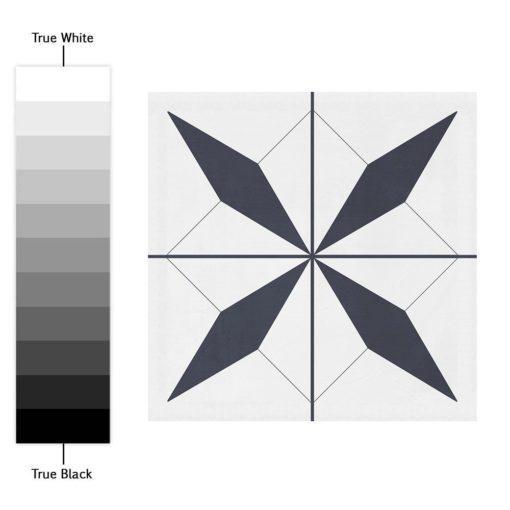 Geometrical Moroccan Tiles - Color Spectrum