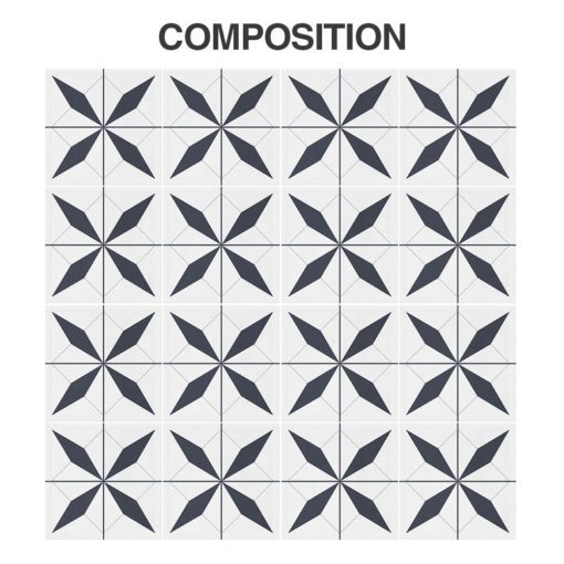 Geometrical Moroccan Tiles - Composition