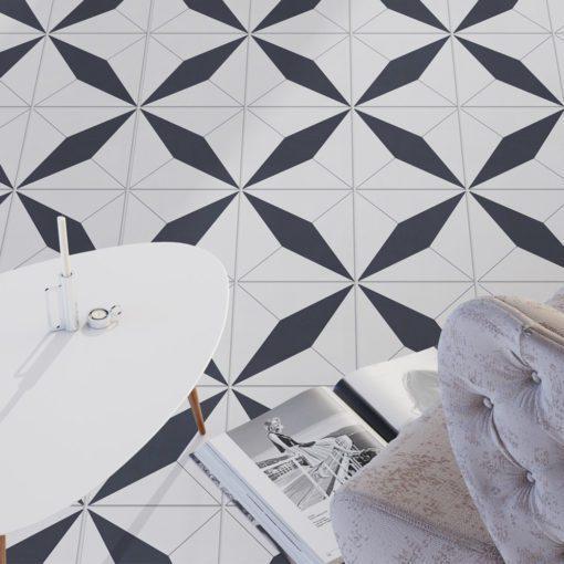 Geometrical Moroccan Tiles - Floor