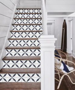 Geometrical Moroccan Tiles - Stairs