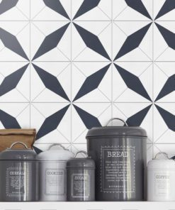 Geometrical Moroccan Tiles - Wall