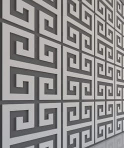 Griechischer Schlüssel 3D Paneele