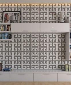 Greek Key 3D Wall Panels