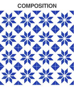 Italian Tile Stickers - Composition