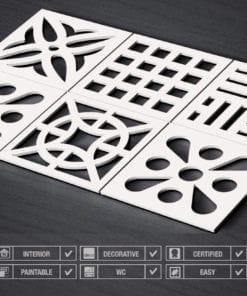 Mid Century 3D Wall Panels - Specs