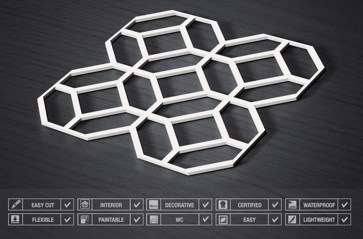 Modern 3d panelen moonwallstickers.com