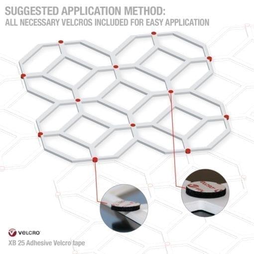 Modern 3D Wall Panels - Velcro