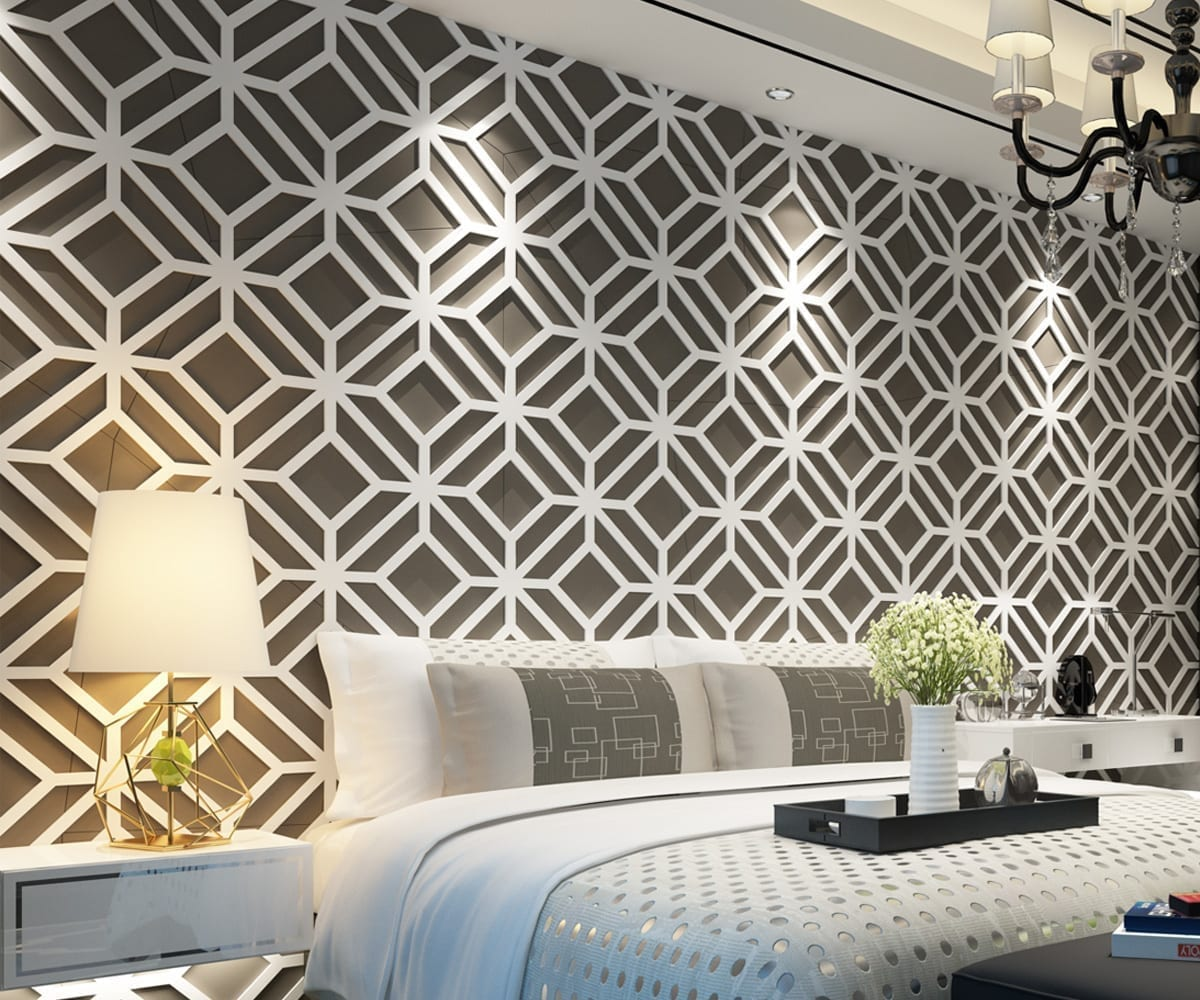 Modern 3d wall panels for 3d wall covering