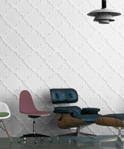 Marokkanisches Muster 3D Paneele