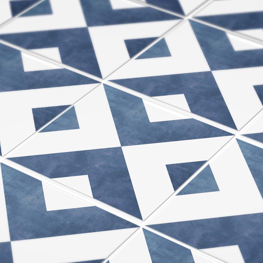 Modern Geometric Tiles (Pack of 32) - Moonwallstickers.com