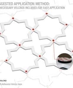 Quadristar 3D Paneele