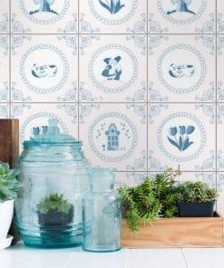 Dutch Tile Stickers