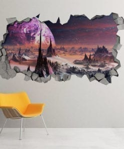 Alien-planet-3d-wall-decor