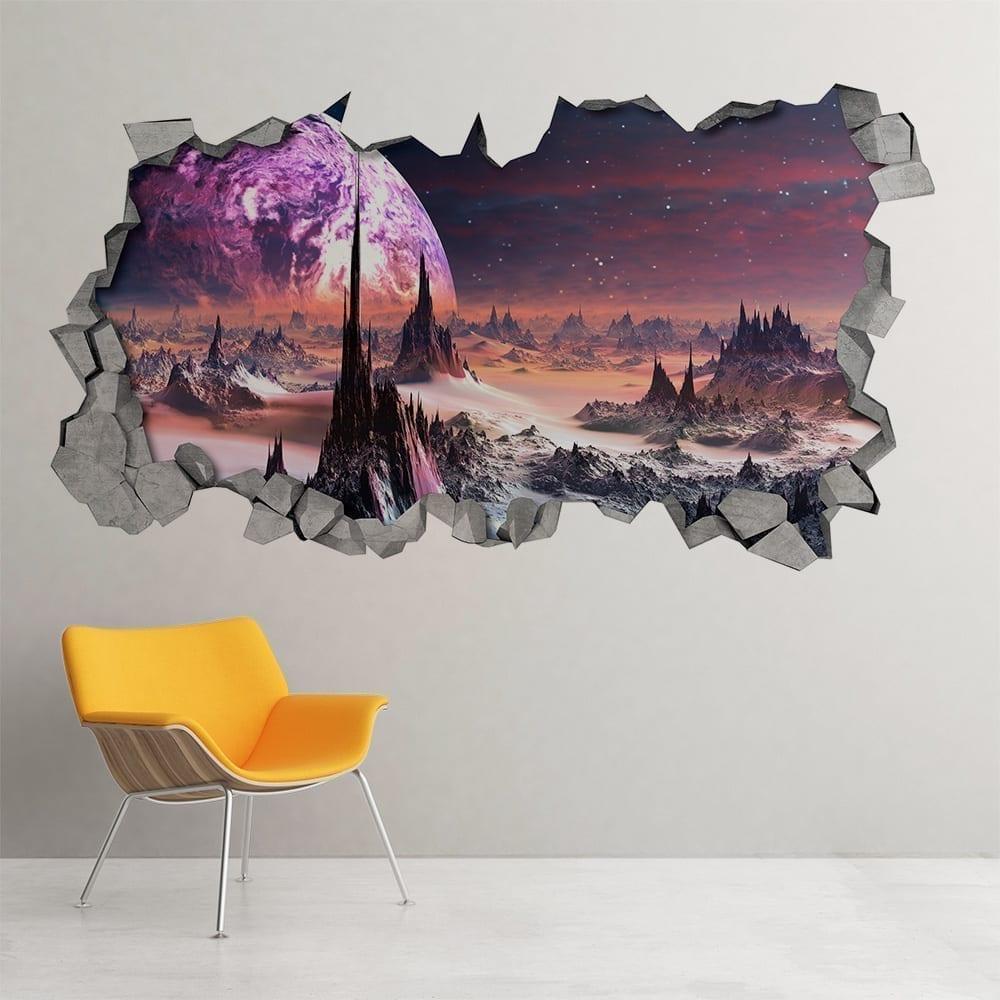 Alien-planet-3d-wall-decor