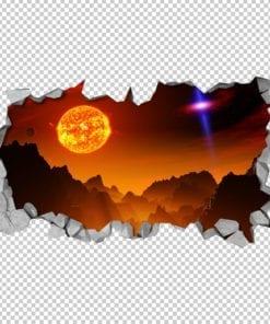 Alien-sun-detail