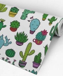 Modello Cactus Carta da Parati