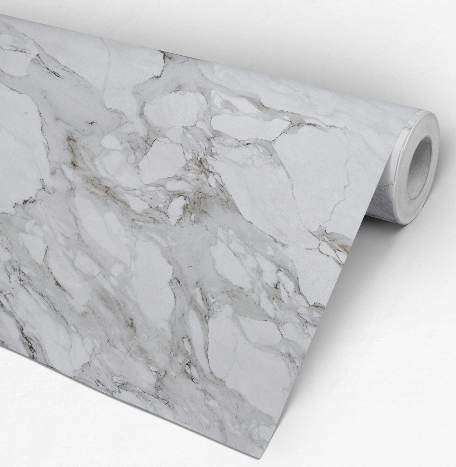 Carrara Marble Wallpaper Roll