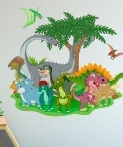 jurassic-park-dinosaur-friends-Sticker-detail