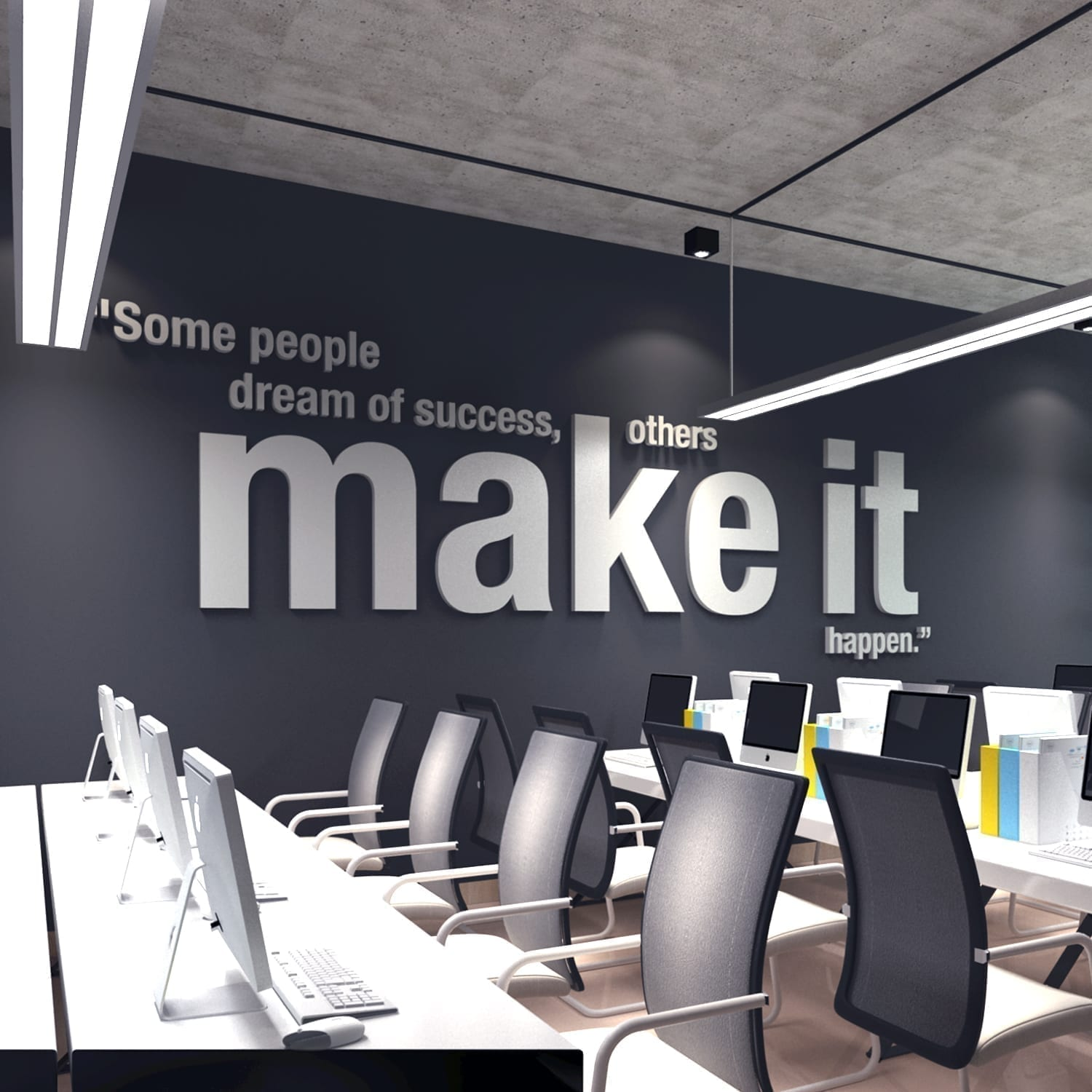 wall art for the office. Make It Happen 3D Office Wall Art Wall Art For The Office