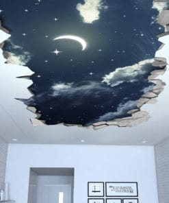 Night-sky-3d-effect-ceiling-decal