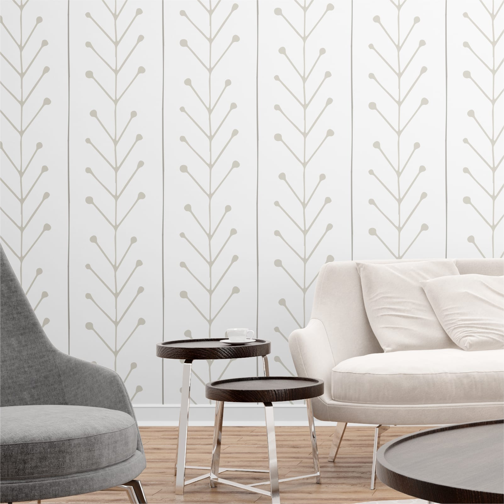 Scandinavian Minimalist Wallpaper