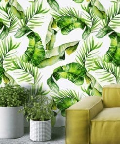 Tropical Watercolor Wall Decor
