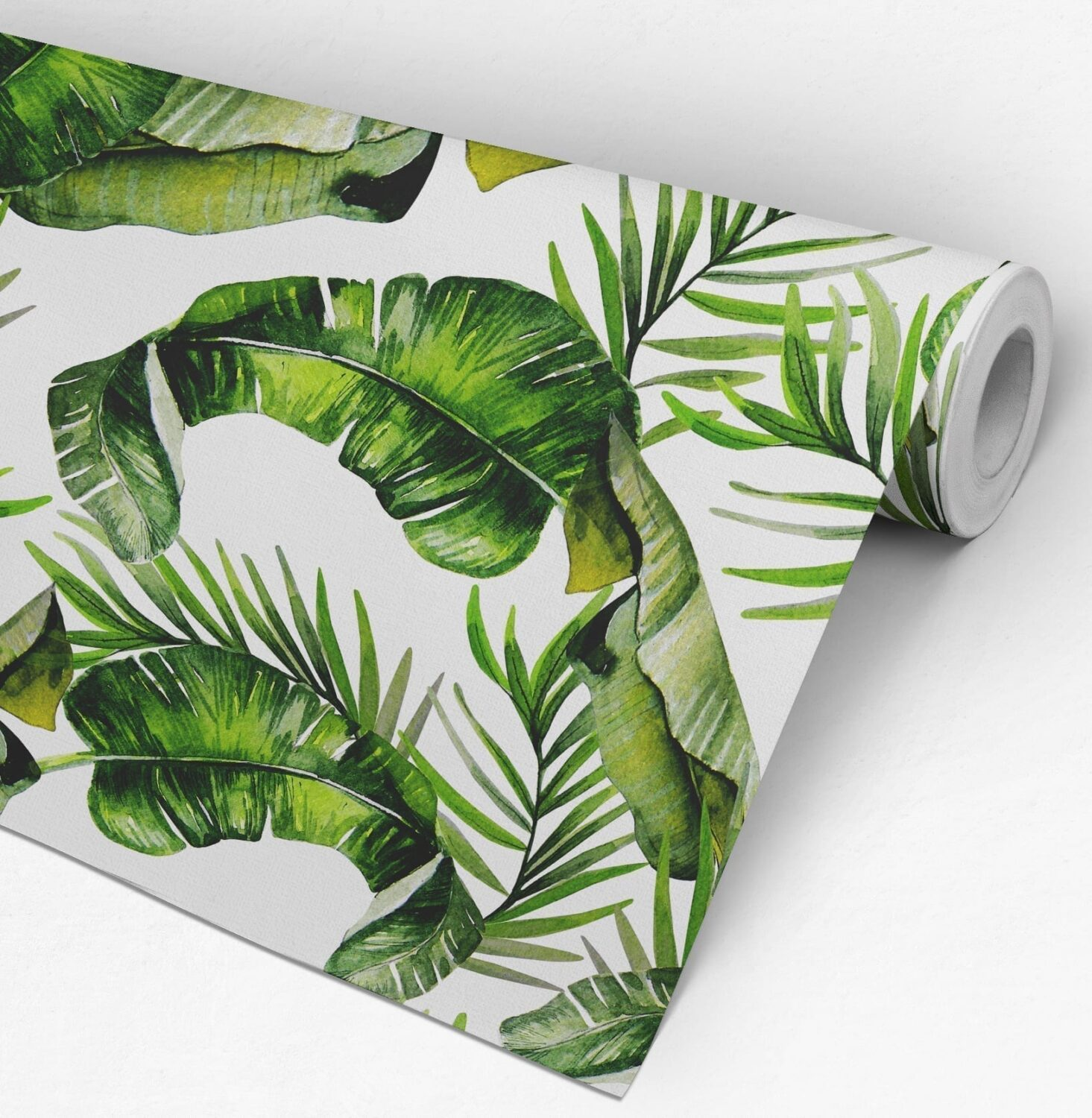 Tropical Watercolor Wall Decor Roll