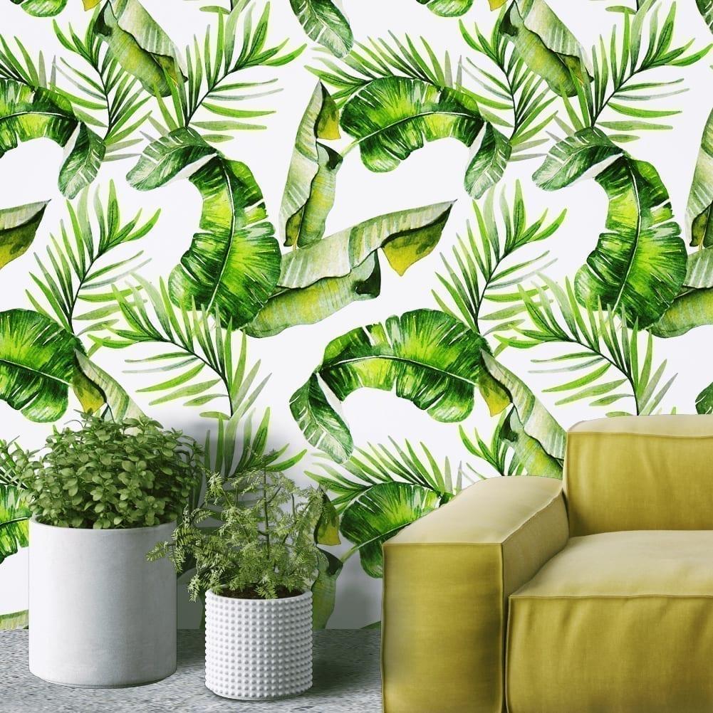 Tropical Aquarelle Décoration Murale