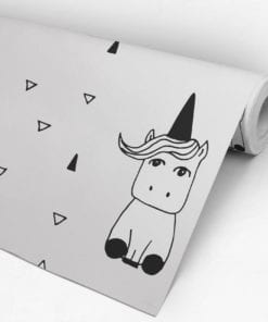Unicorn Nursery Wallpaper Roll