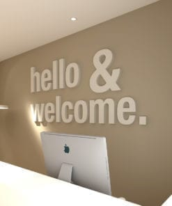 Hello & Welcome Deco Bureau