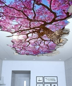 Sakura Cherry Tree Ceiling Decal